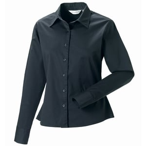 Russell Collection J916F - Womens long sleeve classic twill shirt