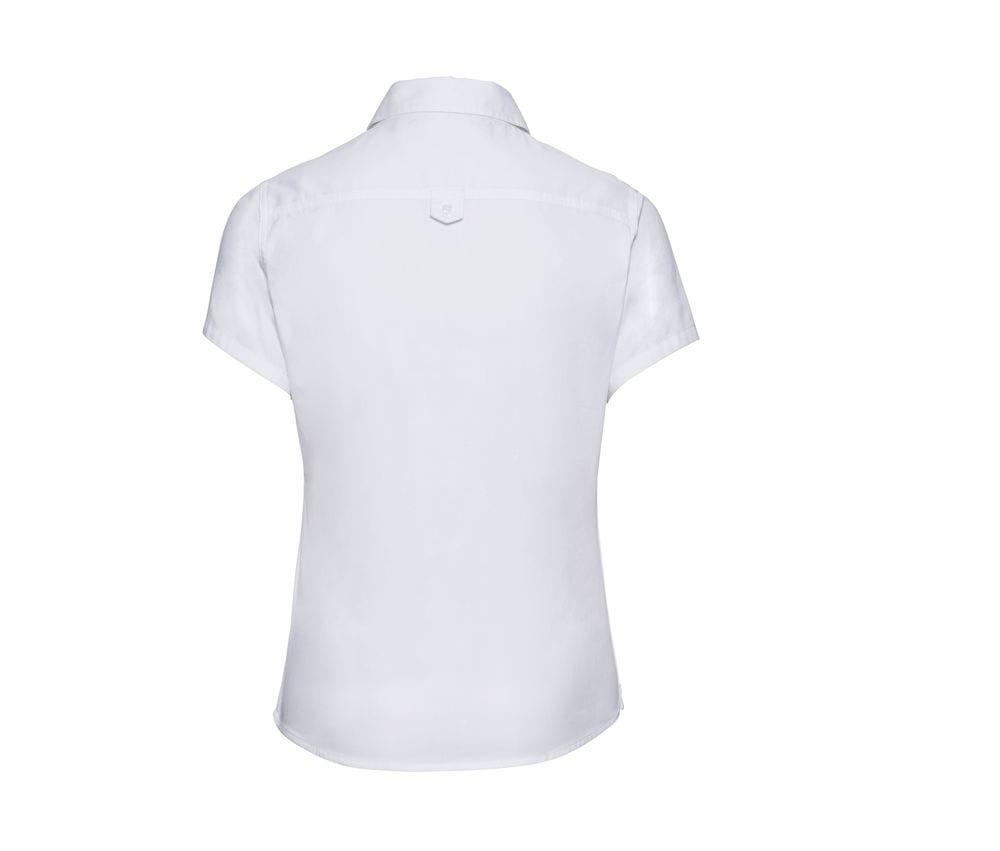 Russell J917F - kurze Ärmel klassisches Twill Shirt