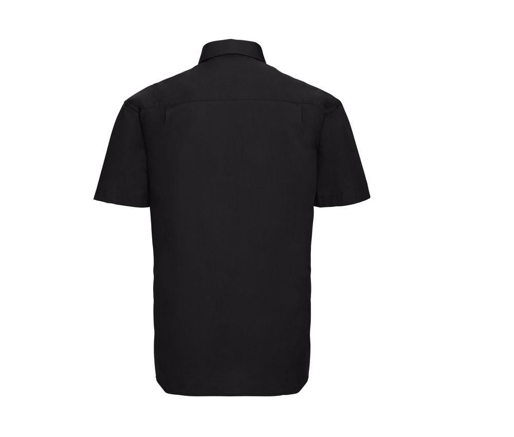 Russell J937M - Camisa popelina con mangas cortas