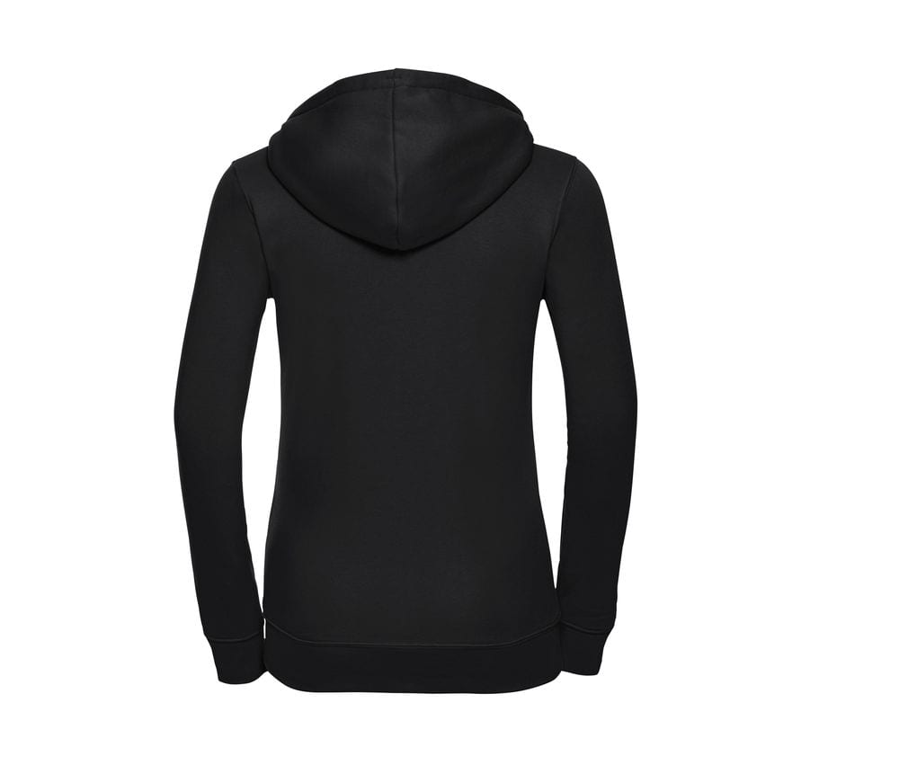 Russell J266F - Sweat de capuz para Senhora - Authentic Zipped Hood