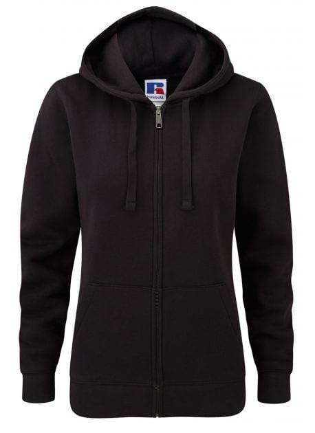 Russell J266F - Women's authentic zipped hooded sweatshirt