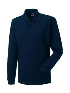 Russell J569L - Long sleeve classic cotton polo