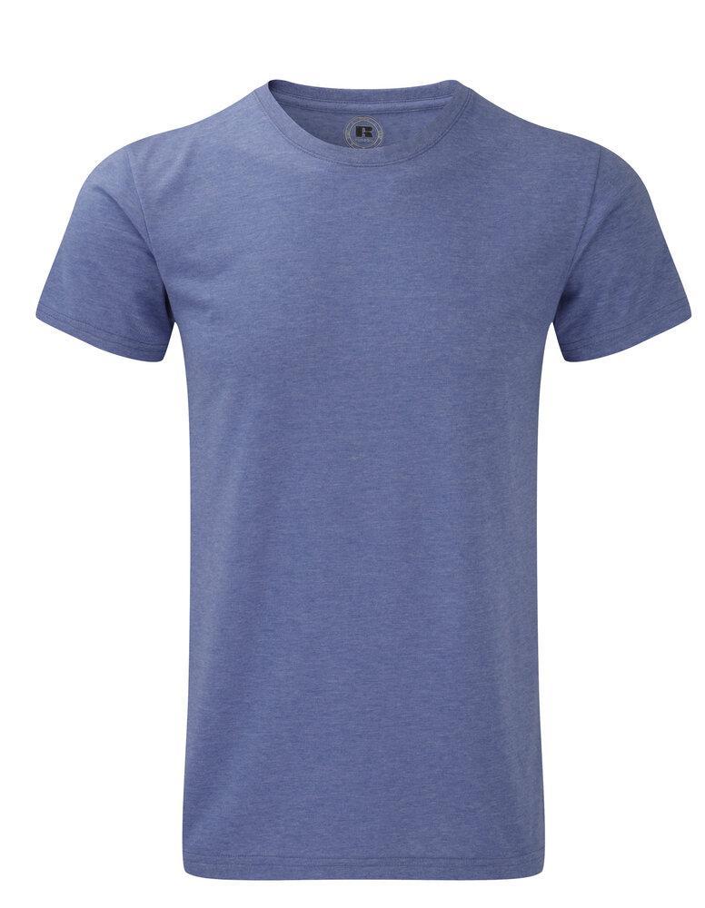 Russell J165M - Poly/Katoenen T-Shirt Heren