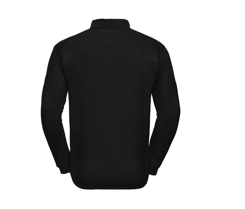 Russell J012M - Schwerlast Kragen sweatshirt