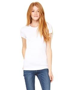 Bella+Canvas 1001 - Ladies Baby Rib Short-Sleeve T-Shirt