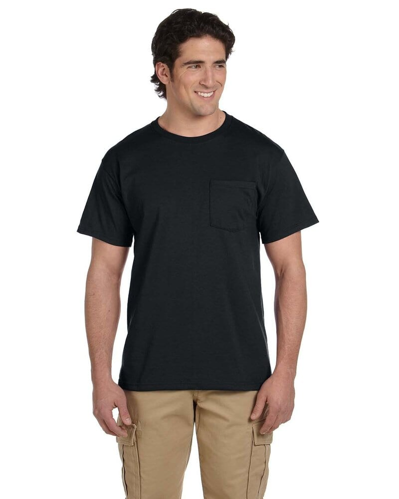Jerzees 29P - 5.6 oz., 50/50 Heavyweight Blend™ Pocket T-Shirt