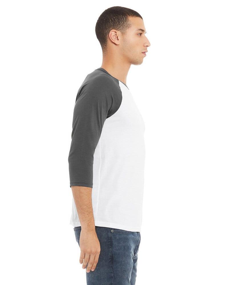 Bella+Canvas 3200 - Unisex 3/4-Sleeve Baseball T-Shirt