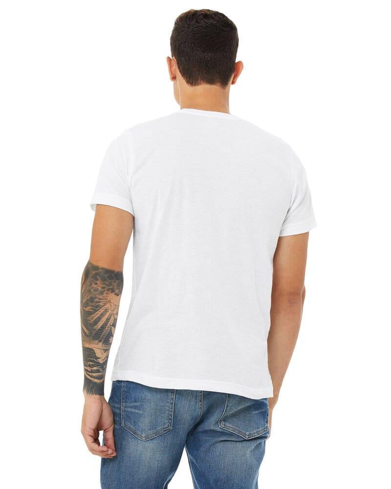 Bella+Canvas 3650 - t-shirt unisexe en poly-coton à manches courtes