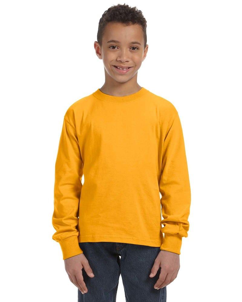 Fruit of the Loom 4930B - 5 oz., 100% Heavy Cotton HD® Long-Sleeve T-Shirt