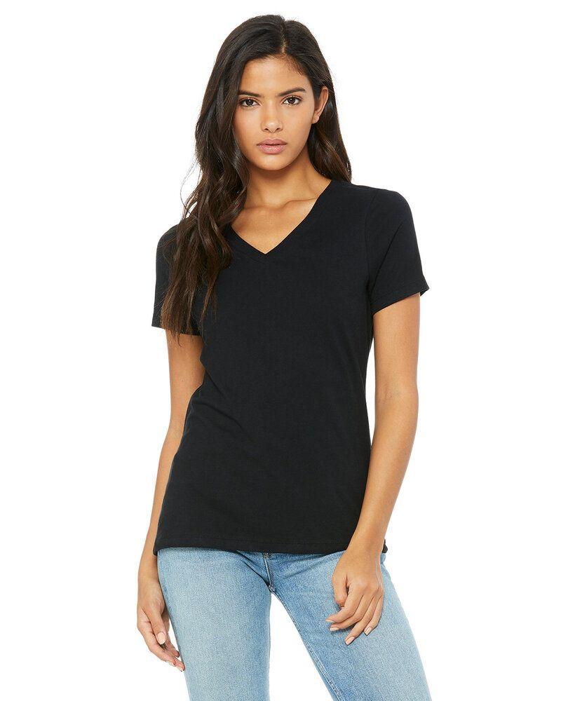 Bella+Canvas 6405 - Missy Jersey Short-Sleeve V-Neck T-Shirt
