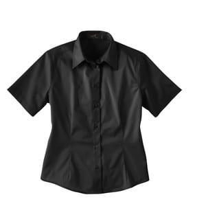 Ash City Vintage 77010 - Ladies Short Sleeve Twill Shirt