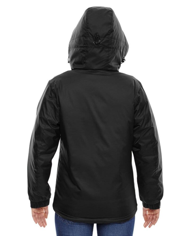88137 North End Men/'s 100/% Nylon Long Sleeve Adjustable Thermal Hooded Jacket