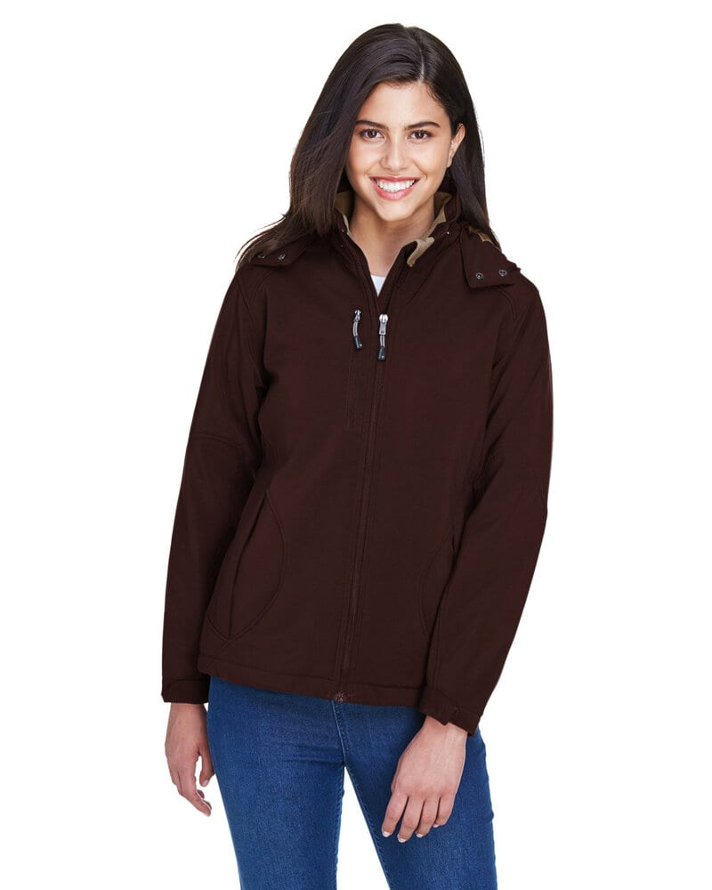 Ash City North End 78080 - GlacierLadies' Insulated Soft Shell Jacket With Detachable Hood