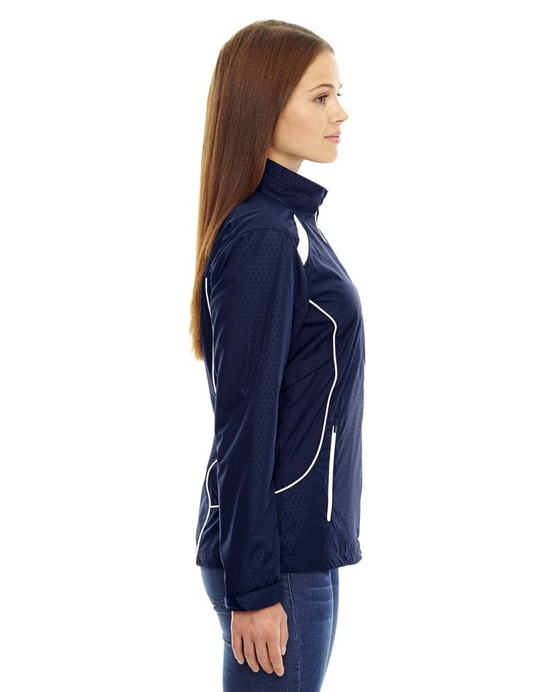 Ash City North End 78188 - Tempo JacketLadies'Lightweight Recycled Polyester Jacket With Embossed Print
