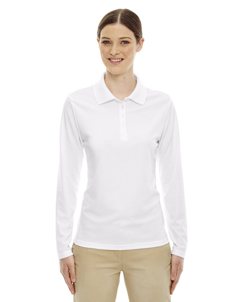 Ash City Core 365 78192 - Pinnacle Core 365™ Ladies' Performance Long Sleeve Pique Polos