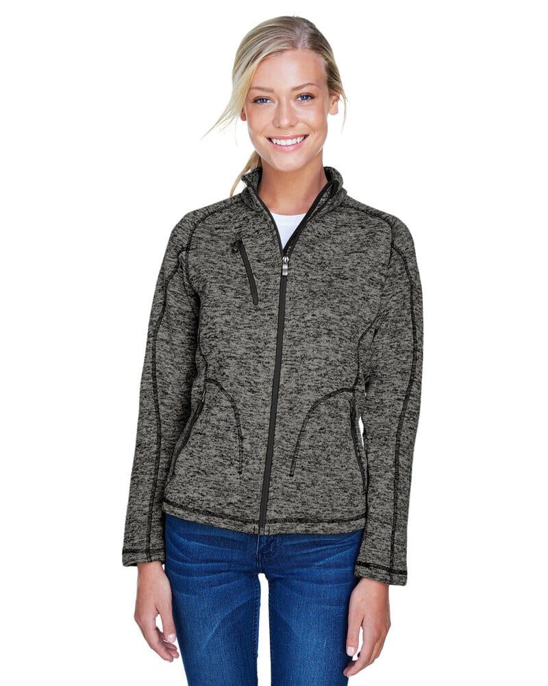Ash City North End 78669 - Peak Ladies' Sweater Fleece Jacket