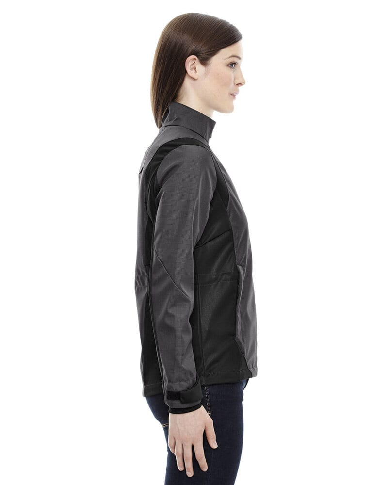 Ash City North End 78686 - Commute Ladies' 3-Layer Light Bonded Two-Tone Soft Shell Jackets With Heat Reflect Technology