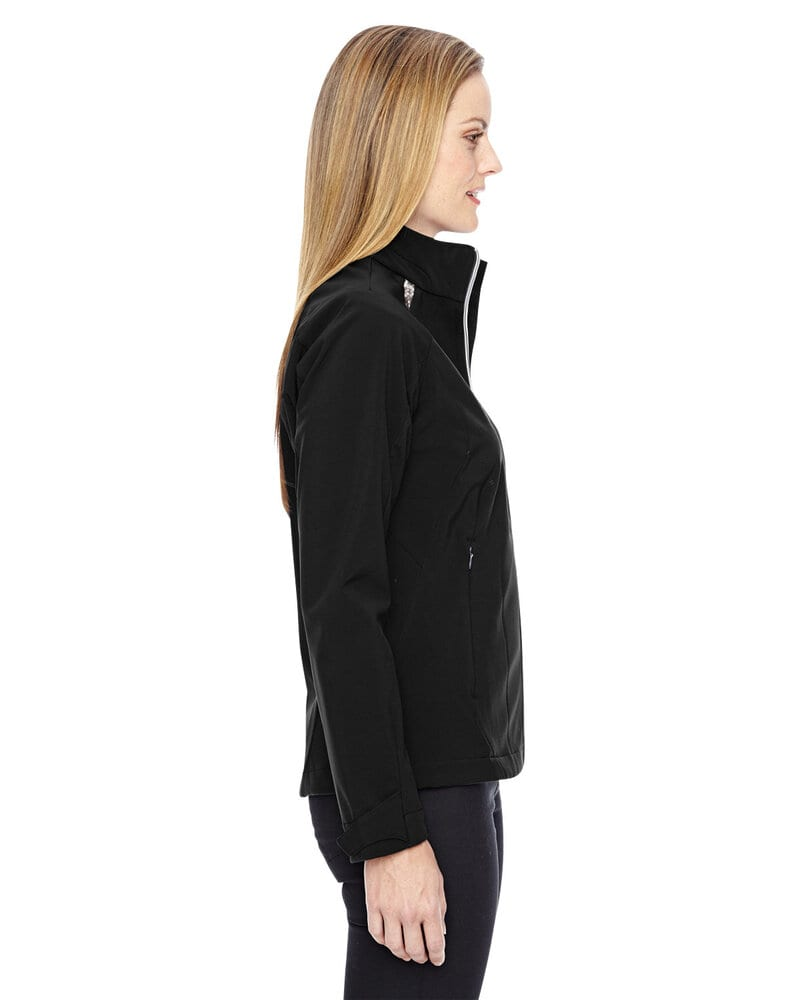 Ash City North End 78693 - ExcursionLadies' Soft Shell Jacket With Laser Stitch Accents