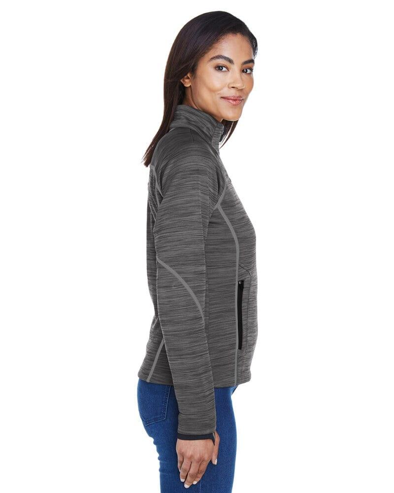 Ash City North End 78697 - Flux Ladies' Melange Bonded Fleece Jackets