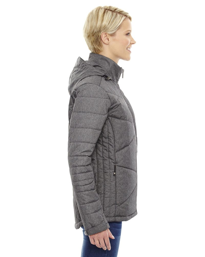Ash City North End 78698 - Avant Ladies' Tech Mélange Insulated Jackets With Heat Reflect Technology