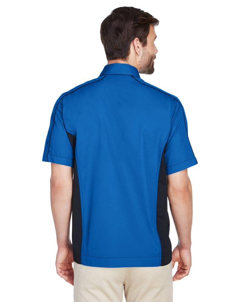 Ash City North End 87042 - Fuse Men's Color-Block Twill Shirts