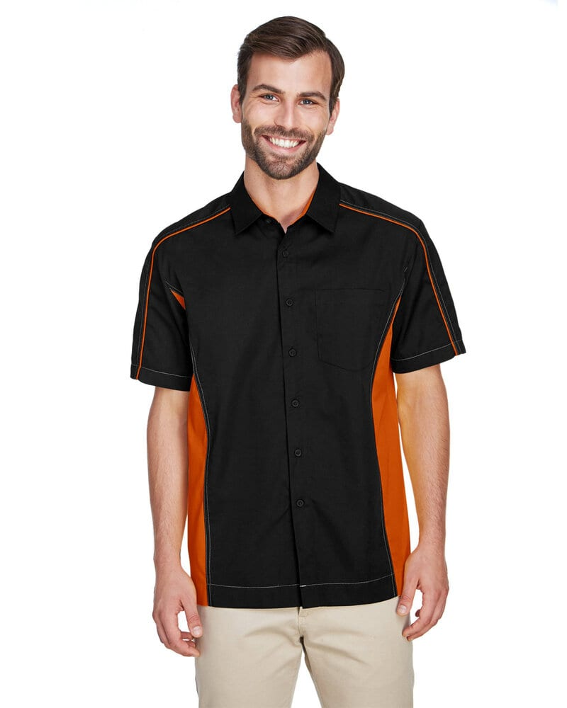 Ash City North End 87042T - Fuse Men's Color-Block Twill Shirts