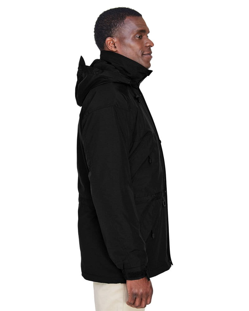 Ash City North End 88007 - Men's 3-In-1 Techno Series Parka With Dobby Trim