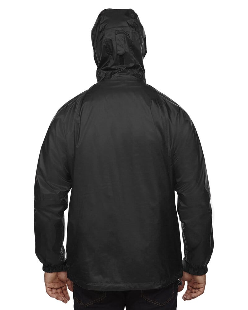 North End 88120 - Veste à capuche à coutures étanches Techno Performance Tm 3-In-1