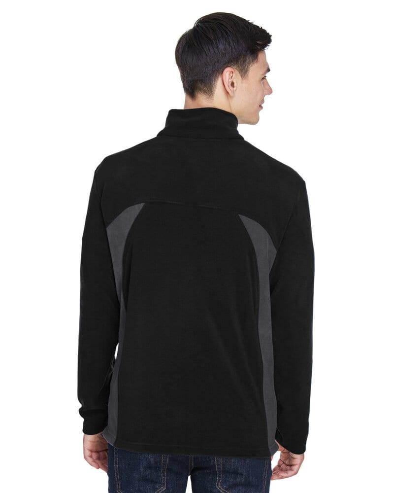 Ash City North End 88123 - Manteau Pour Homme En Micro-Molleton À Glissière Tout Au Long