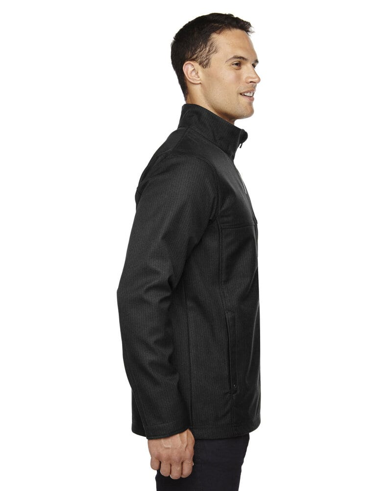 Ash City North End 88171 - Men's Textured City Soft Shell Jacket