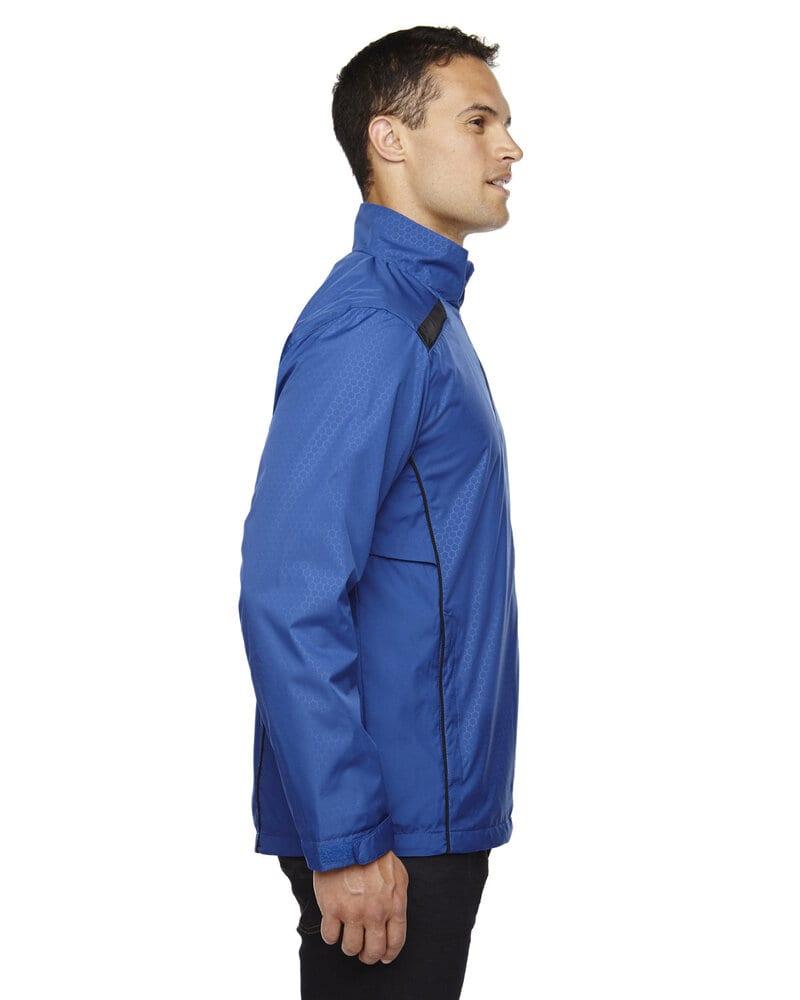 North End 88188 - Veste Tempo légère en polyester recyclé pour homme avec impression en relief