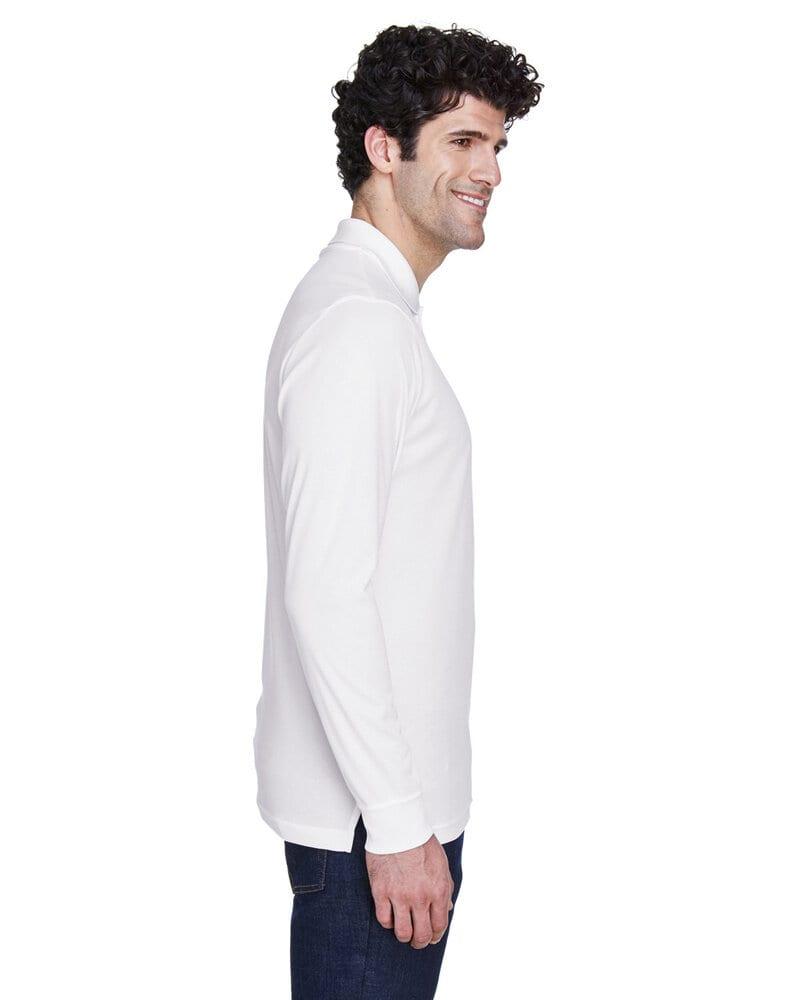 Ash City Core 365 88192 - Pinnacle Core 365™ Men's Performance Long Sleeve Pique Polos