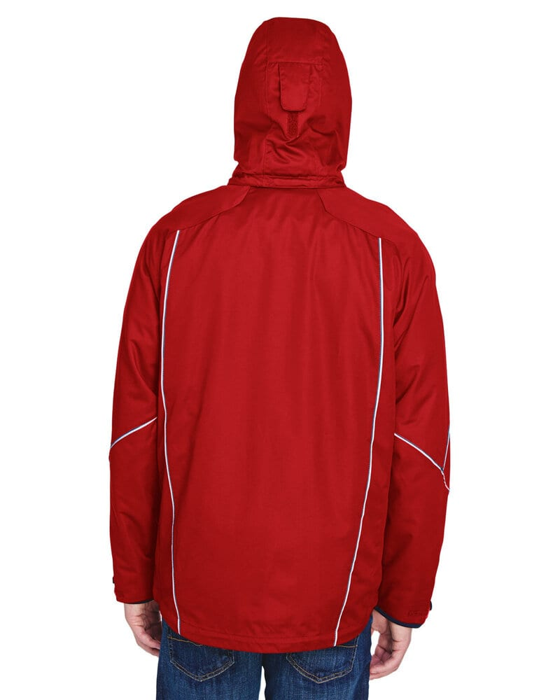 Ash City North End 88196T - ANGLE MEN'S TALL 3-in-1 JACKET WITH BONDED FLEECE LINER
