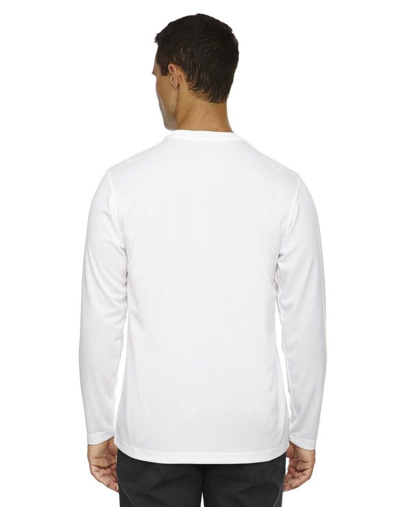 Ash City Core 365 88199 - Agility Core 365™ Men's Performance Long Sleeve Pique Crew Necks