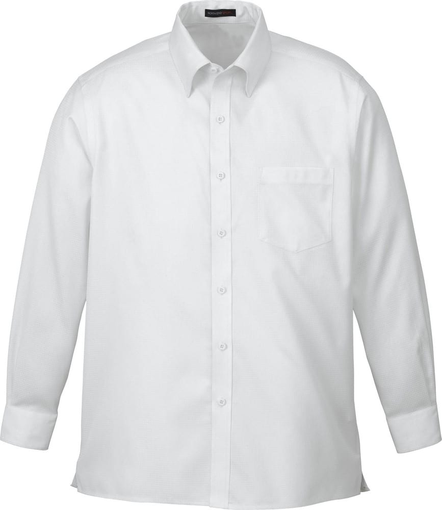 Ash City North End 88635 - Legacy Men's Wrinkle Free 2-Ply 80'S Cotton Jacquard Taped Shirt