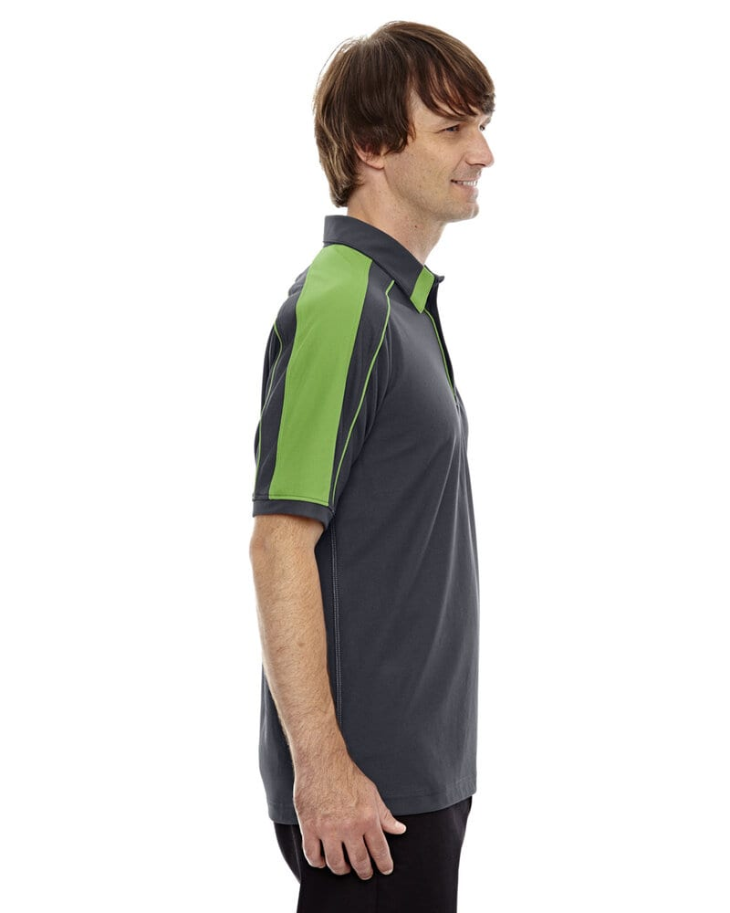 North End Sport Red 88648 - Polo en polyester piqué haute performance