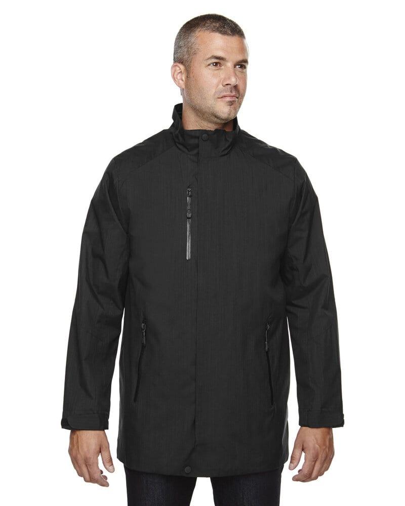 Ash City North End 88670 - MetropolitanMen'sLightweight City Length Jacket
