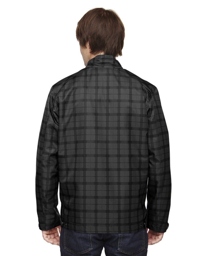 Ash City North End 88671 - Locale Men's Lightweight City Plaid Jacket
