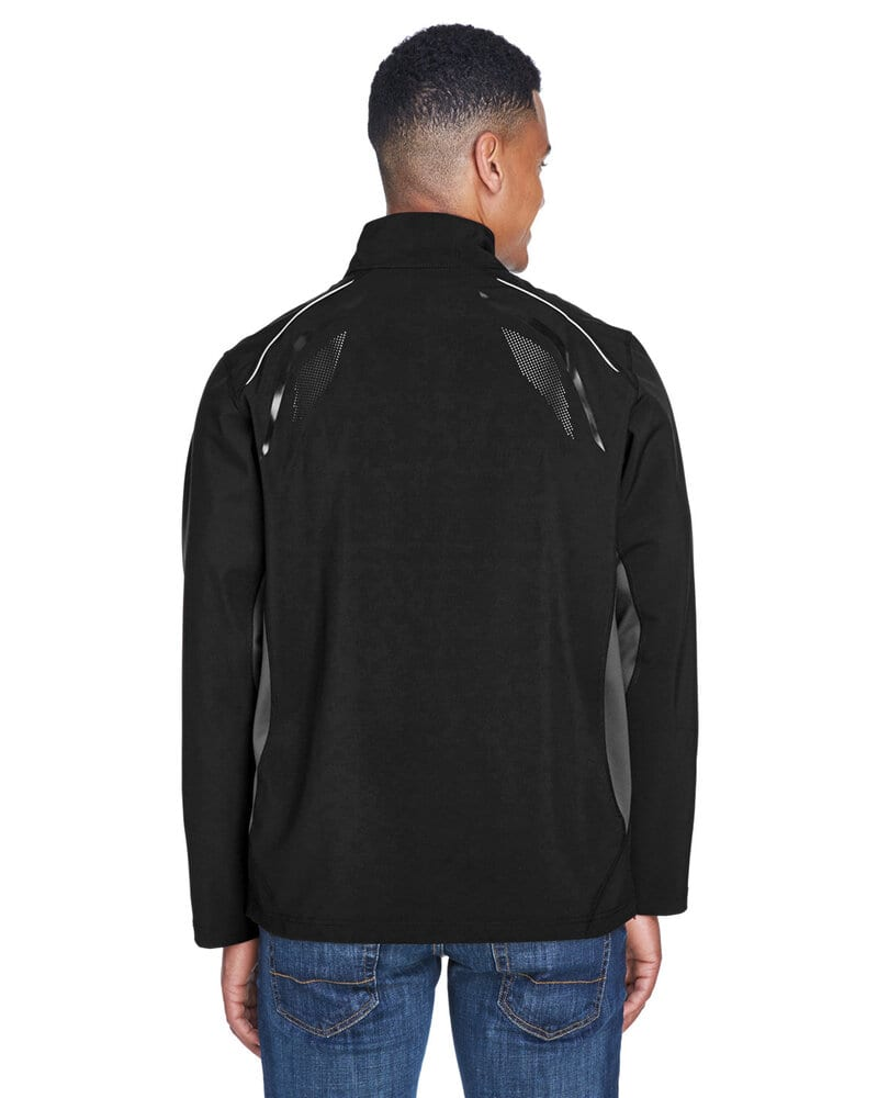 Ash City North End 88678 - PursuitMen's3-Layer Light Bonded Hybrid Soft Shell Jacket With Laser Perforation