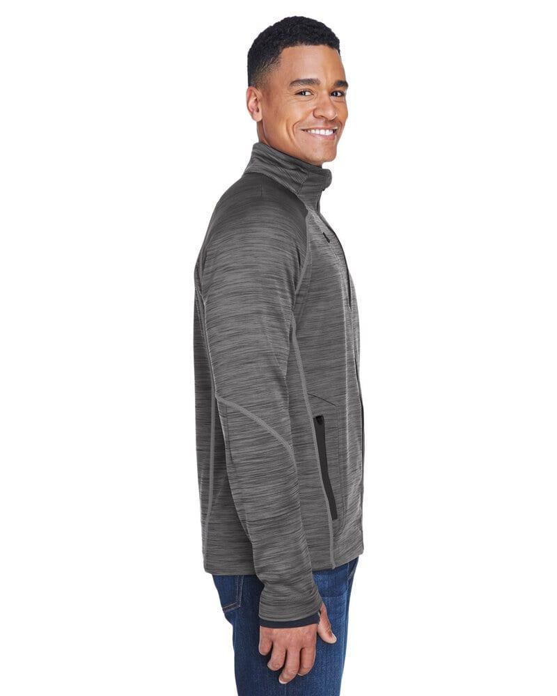 Ash City North End 88697 - Flux Men's Melange Bonded Fleece Jackets