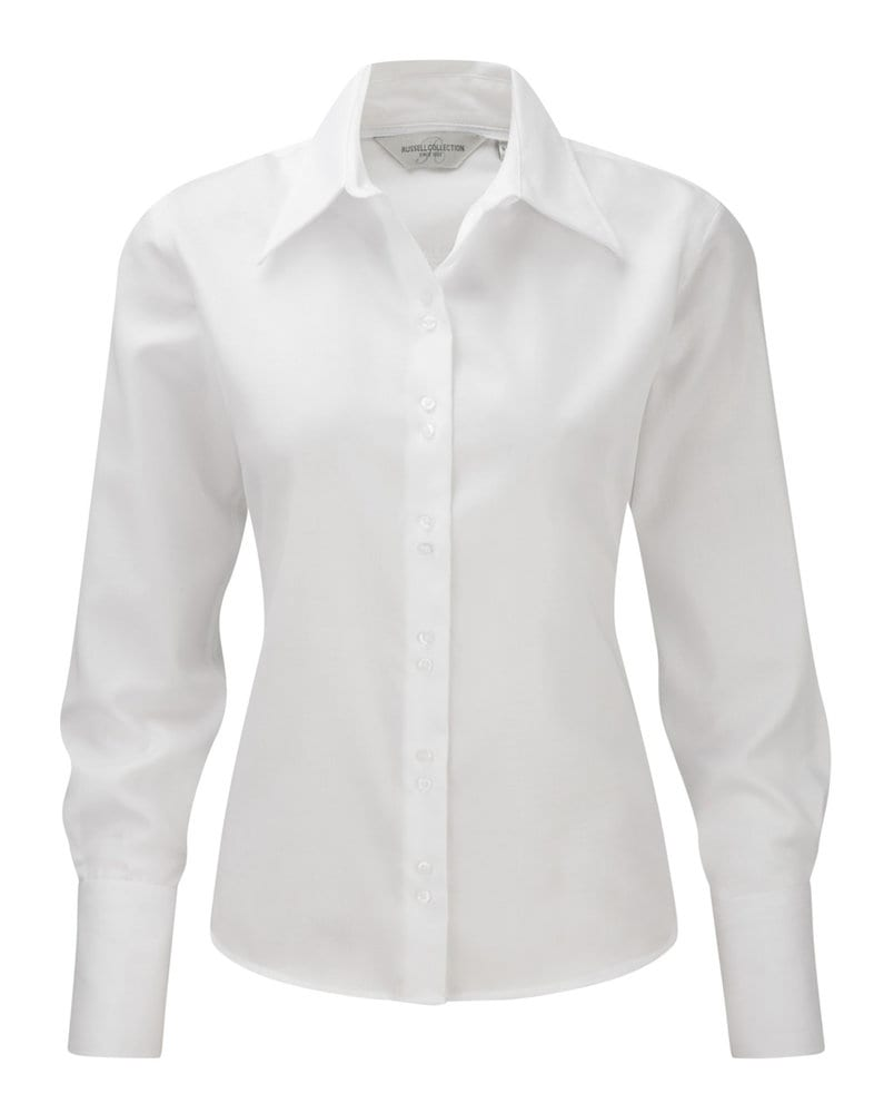 Russell Europe R-956F-0 - Ladies` Ultimate Non-iron Shirt LS