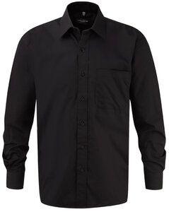 Russell Europe R-936M-0 - Cotton Poplin Shirt LS