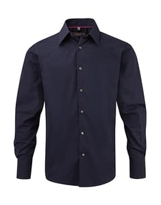 Russell Europe R-954M-0 - Tencel Fitted Shirt LS