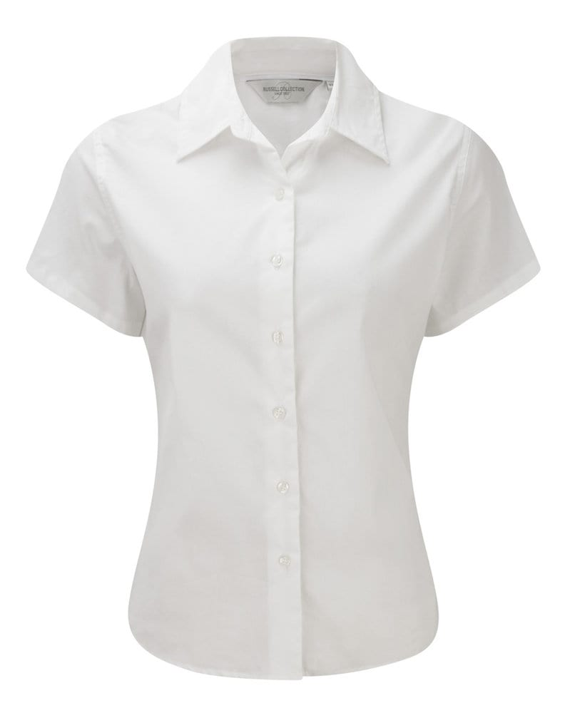 Russell Europe R-917F-0 - Ladies' Short Sleeve Classic Twill Shirt
