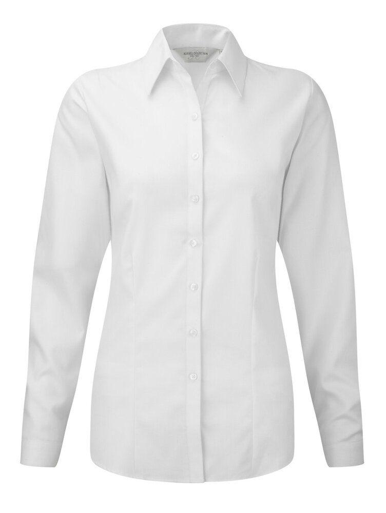 Russell Europe R-962F-0 - Ladies` LS Herringbone Shirt