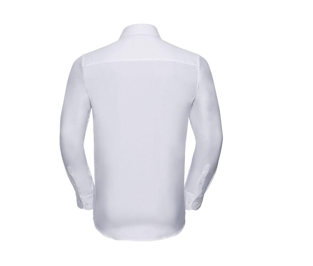 Russell Europe R-962M-0 - Men`s LS Herringbone Shirt