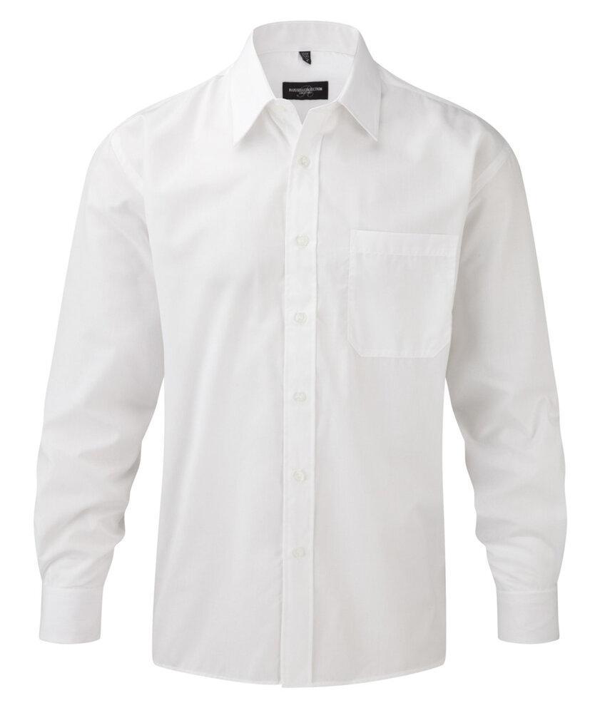 Russell Europe 934M - Longsleeve Poplin Shirt