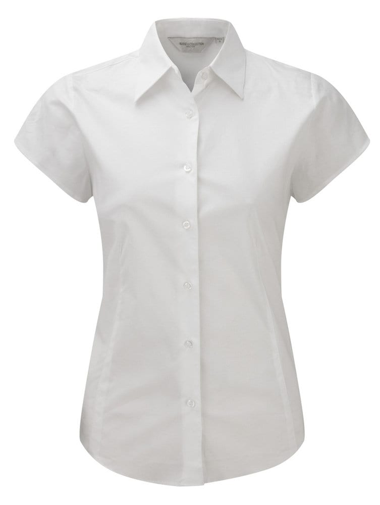 Russell Europe R-947F-0 - Fitted Shortsleeve Blouse