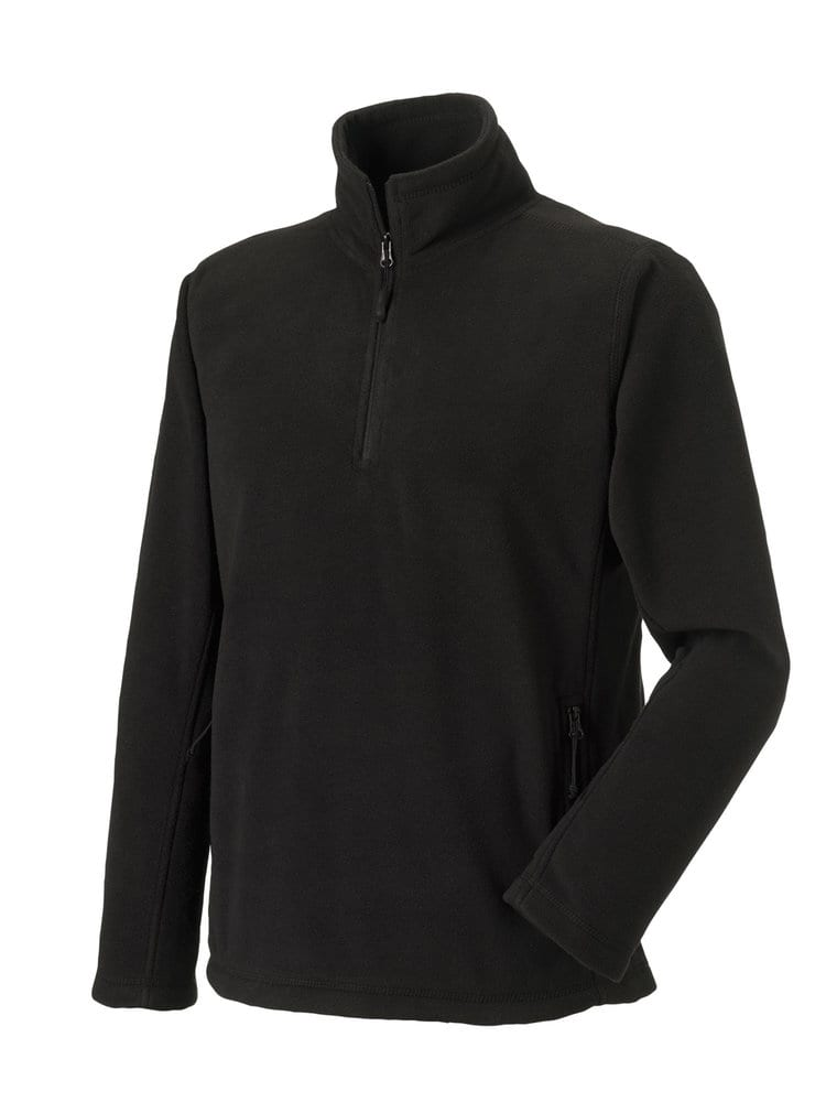 Russell Europe R-874M-0 - Adult`s Quarter Zip Outdoor Fleece