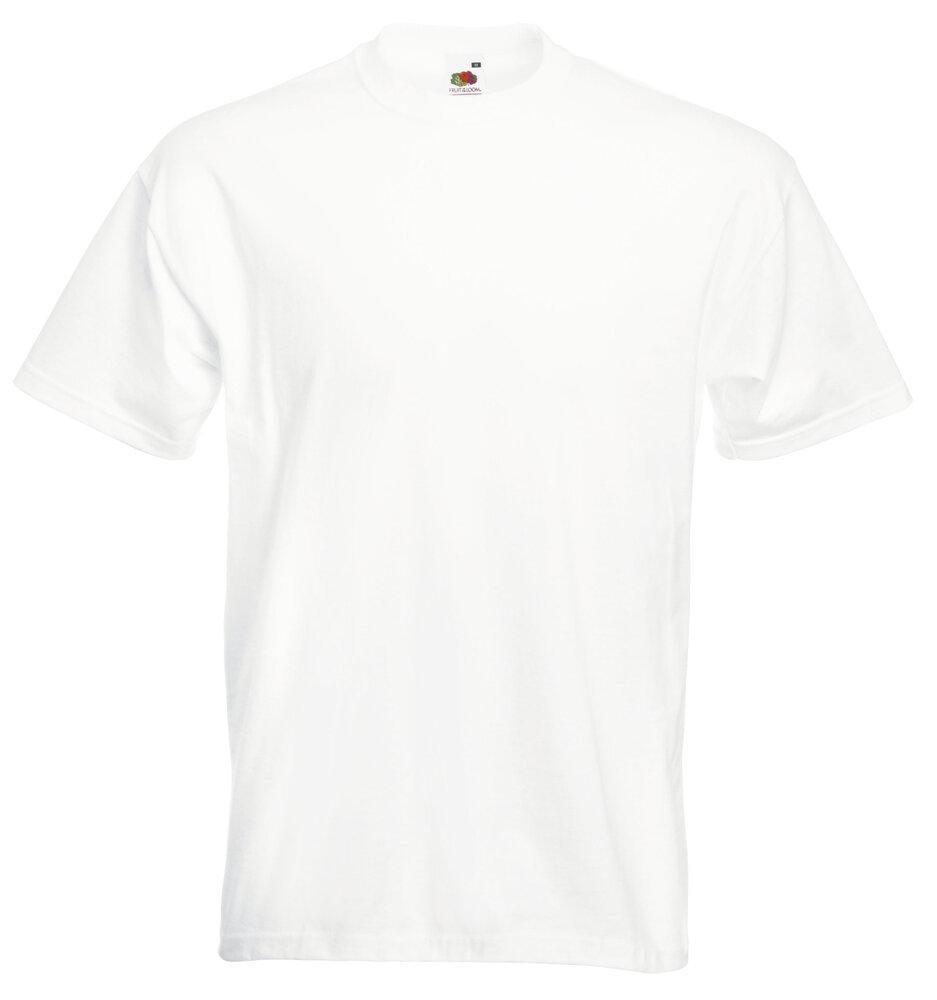 Fruit of the Loom 61-044-0 - T-Shirt Homme Super Premium 100% Coton